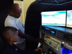 Atelier DecouvAIRte - Simulateur de vol